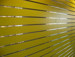 Yellow Slatwall